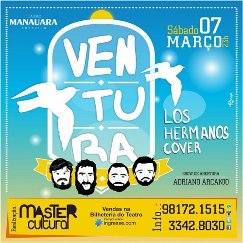 Ingresso Ingressos Ventura - Los Hermanos Cover