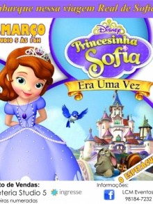 Ingresso Ingressos Camarote - A Princesa Sofia – O Musical