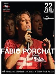 Ingresso Ingressos FABIO PORCHAT - FORA DO NORMAL (CAMAROTE)