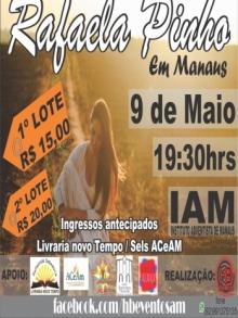 Ingresso Ingressos Rafaela Pinho