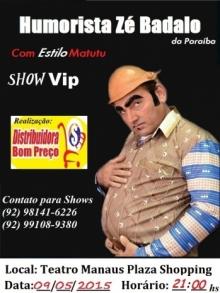 Ingresso Ingressos Zé Badalo da Paraíba Show Vip