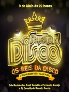 Ingresso Ingressos Studio 5 Disco - Os Reis da Disco (PISTA)