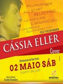 Ingresso Ingressos Cassia Eller Cover - Por Angélica Fata
