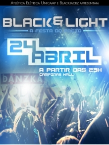 Ingresso Ingressos Black & Light