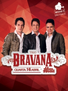 Ingresso Ingressos Woods SP - Trio Bravana