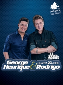 Ingresso Ingressos Woods SP - George Henrique & Rodrigo